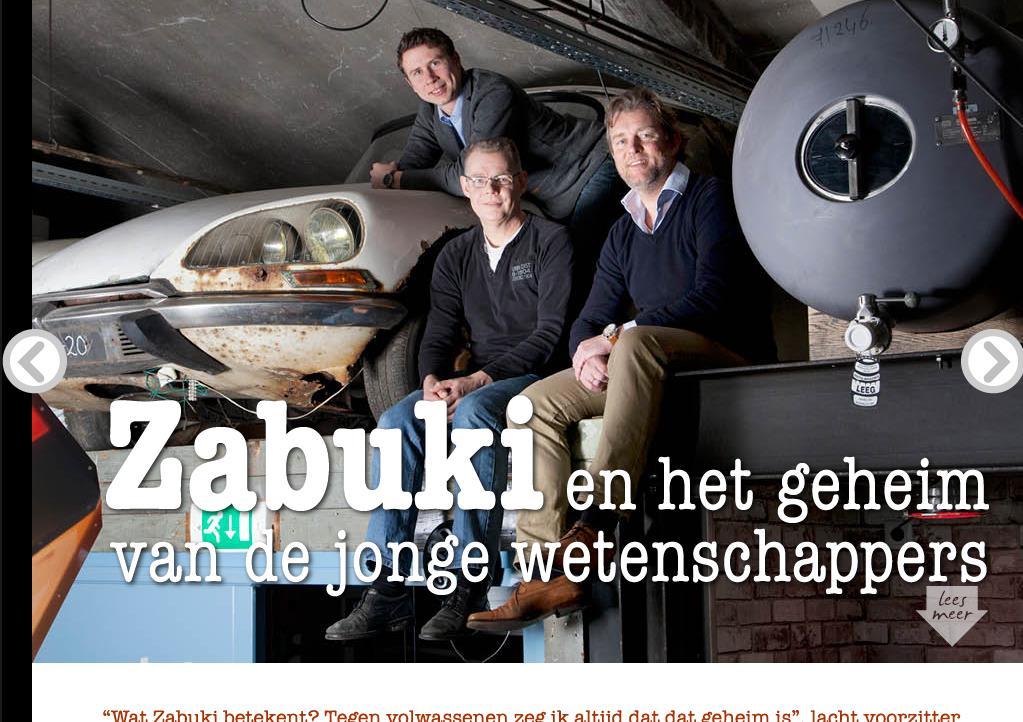 Zabuki en het geheim van jonge wetenschappers
